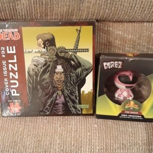 The Walking Dead puzzle all the pink ranger collec
